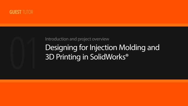 Digital Tutors - Designing for Injection Molding and 3D