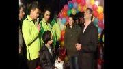 بخش دوم افتتاحیه آجیل و خشکبار محسن شعبه پاسداران در شب یلدا