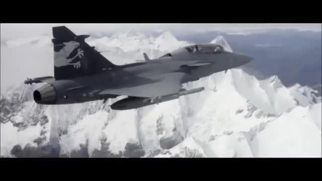 جنگنده saab 39 grigen ng