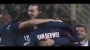 پاری سن ژرمن با دو گل زلاتان به فینال جام لیگ فرانسه رفت