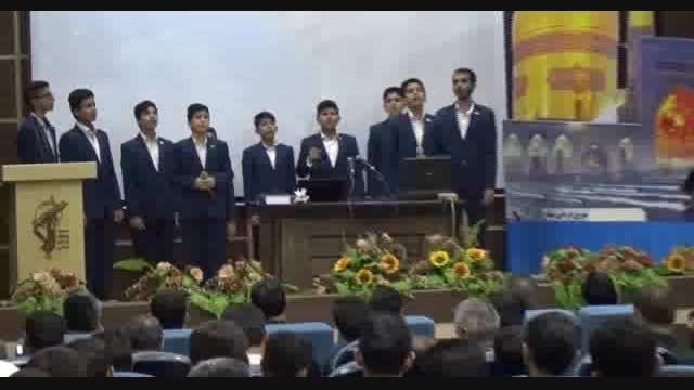 سرود شب حمله - اردوی مشهد مقدس گروه سرود نسیم انتظار