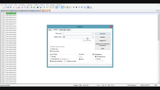 آموزش کار با نرم افزار ارسال انبوه واتس اپ