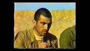 شهید محمدرضا وثاقتی در جبهه جنگ