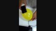 ساخت قاب گوشی با بادکنک --- خیلی جالبه