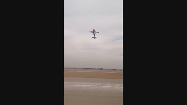 پرواز هواپیمای کنترلی Extra300 هنگام هاور