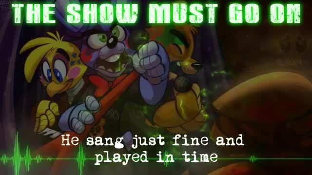 The Show Must Go On آهنگ بازی پنج شب در کنار فردی |FNAF