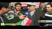 مصاحبه با مردم دماوند در روز 22 بهمن