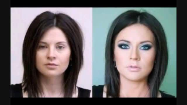 معجزه قبل و بعد آرایش کردن دخترا رو با چشاتون ببینید:))