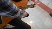 کلیپ ریتم زیبا(رومبا )با گیتار نوازی ((علی عارف نیا))