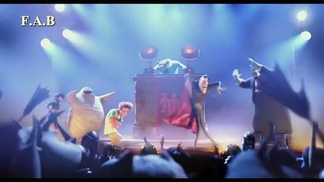 موزیک ویدیو هتل ترسیلوانیا با موزیک کردی عزیز ویسی