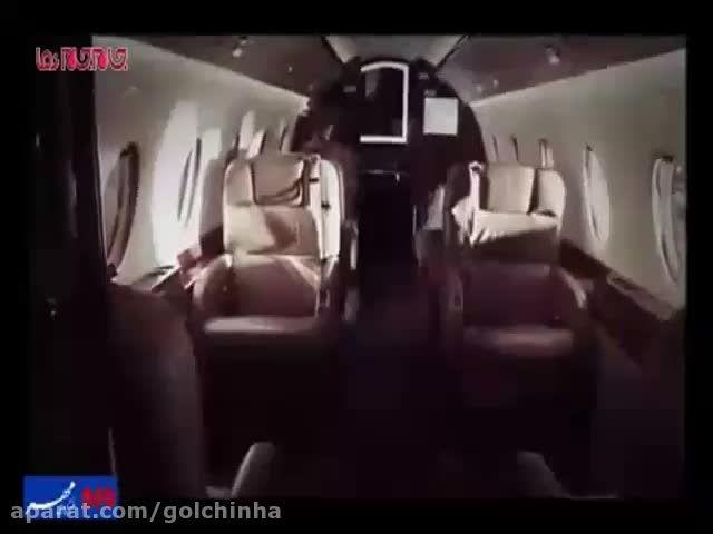 جت خصوصی کریس رونالدو هواپیما شخصی فیلم گلچین صفاسا