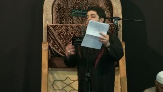 فاطمیه دوم 1436 حسینیه بیت العباس قم