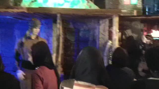 جعفر صابری در نمایشگاه توانمندی های روستائی