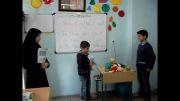 کلاس شیرین زبان انگلیسی در پایه چهارم