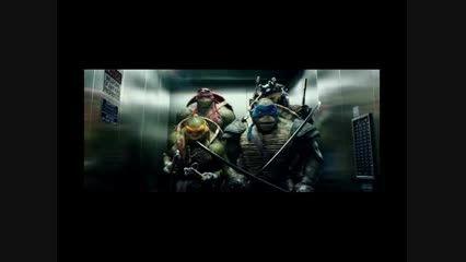 یک تیکه خنده دار از فیلم لاک پشت های نینجا !!!