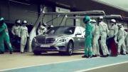 تیزر رسمی: رزبرگ و همیلتون در تبلیغ مرسدس S500 هیبریدی