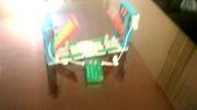 پل متحرک با مکانیزم کابلی