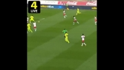 گل نیمار به آلمریا / آلمریا 1 - 1 بارسلونا