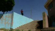 گروه پارکور هاس - ویدیوهای ماهیانه - قسمت  6 - خرداد 92