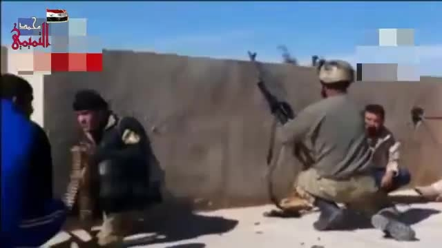 درگیری ارتش عراق با خائنان به اسلام (داعشی ها)