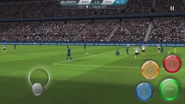 FIFA MOBILE GAMEPLAY REVIEW! (FIFA 16 IOS/ANDROID