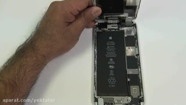 تعویض تاچ و LCD - تعویض گلس آیفون 6S پلاس