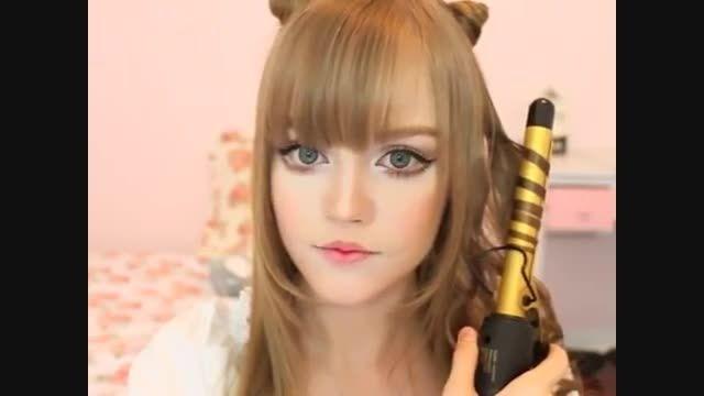 مدل موی گربه ای