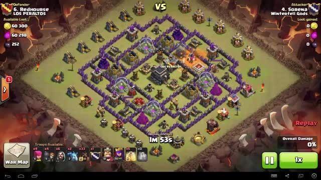Clash of Clans - TH9 - GoHo - War 81 vs LOS PERALTOS -