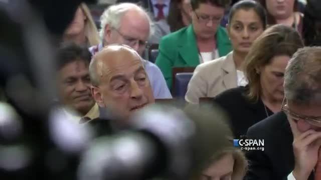 سیری جلسه مطبوعاتی کاخ سفید را به هم ریخت!
