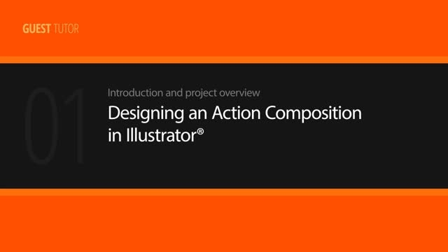 Designing an Action Composition in Illustrator