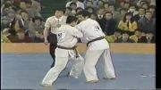 مبارزه جذاب و زیبای شوکی ماتسویی  کیوکوشین