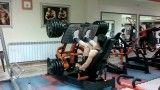 350 کیلو  پرس پا