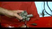 سرویس کردن کاربراتور موتورسیکلت هوندا سی جی 125