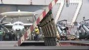 پرواز شناسایی E- 2C و اسکورت F-18