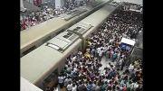 شرایط سخت برای مسافران مترو در چین