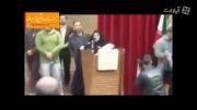 فیلم سخنرانی مردانه دختر دانشجو مقابل مطهری