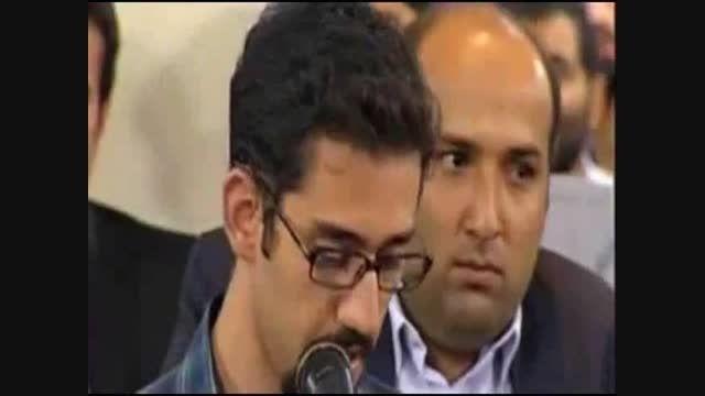 شعر طنز در مورد نماز در محضر رهبر انقلاب