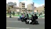 موتور سنگین-تهران-اتوبان همت