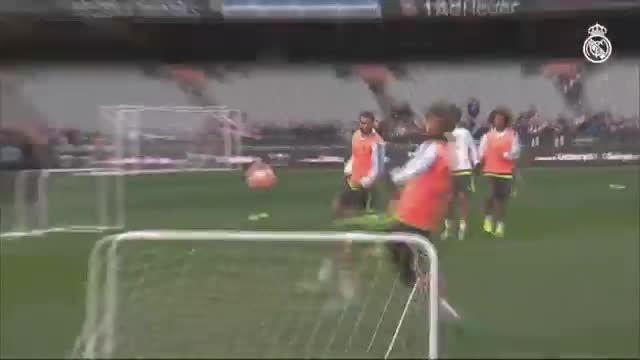 تمرینات رئال مادرید (17.07.2015)