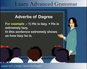 آموزش گرامر پیشرفته ی زبان انگلیسی