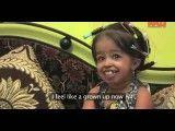 کوتاه قدترین دختر ۱۸ ساله دنیا، کمی بزرگتر از هندوانه بزودی در گینس
