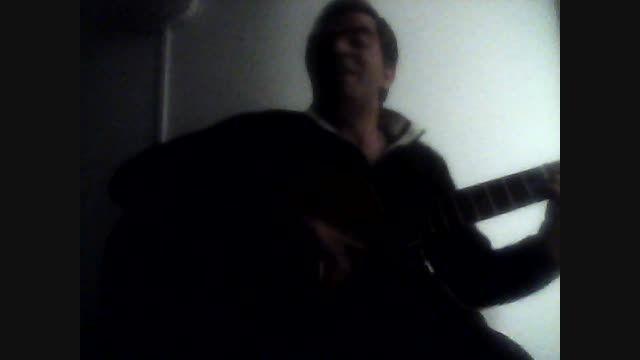 گیتاری لالایی عشقم (نوید دلها) navid delha