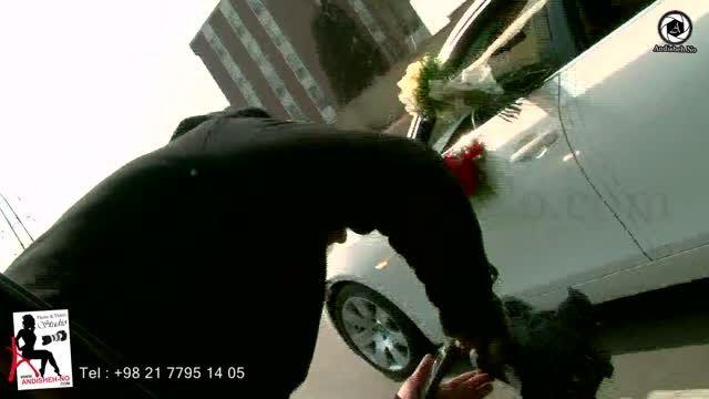 کلیپ پشت صحنه فیلمبرداری عروسی آتلیه عکاسی اندیشه نو 93