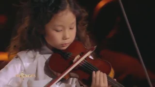 ویولن از می یو (7 ساله) - Adagio from Albinoni