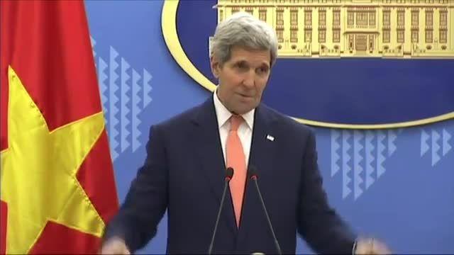 جان کری : آمریکا نمیتواند زیر فشار جنگ با ایران برود