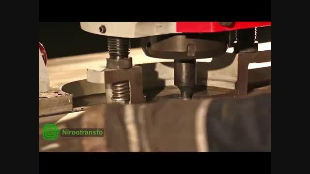 فرایند تولید ترانسفورماتور در شرکت نیرو ترانسفو