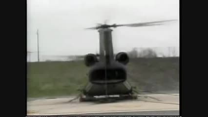 رزونانس بال های هلیکوپتر که به متلاشی شدن آن می انجامد