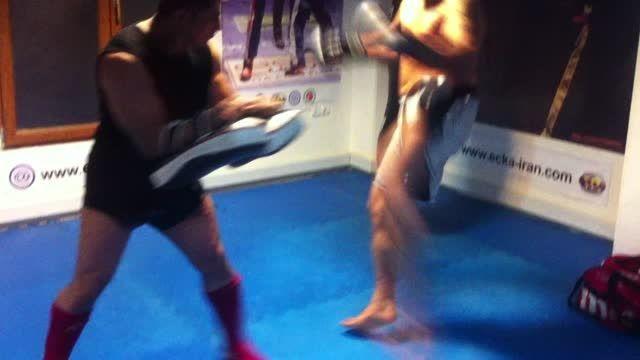 mojtaba azadian مجتبی آزاذیان fitnessboxing