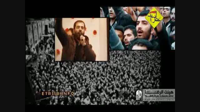 حاج حسین سیب سرخی - بدرقه فاطمه (س) 1394 _ ذکر حیدر