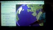 آموزش جغرافیا با برد هوشمند